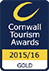 Cornwall Tourism Gold Award